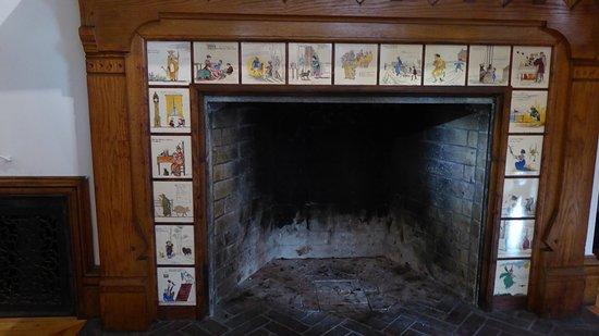 Milton, MA: Fireplace