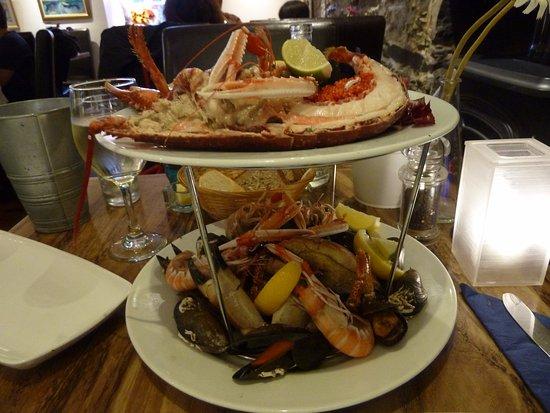 Starfish Restaurant: SeafoodPlatte