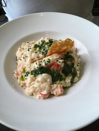 Cafe Ragueneau: Risotto con mariscos