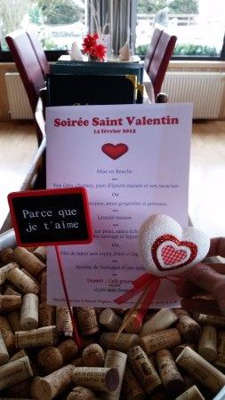 Chatillon-sur-Cluses, Frankrig: soirée St valentin