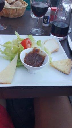 Restaurant A Merendella: assiette de fromage
