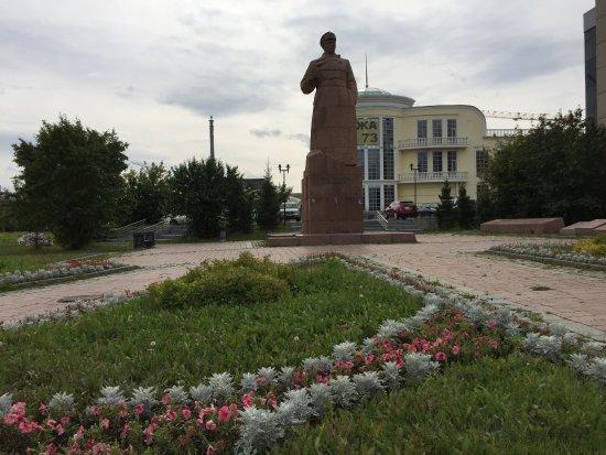 Malyshev Statue