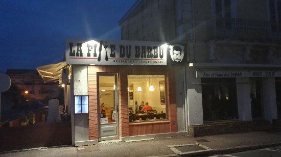 Ares, France: Restaurant la Fille du Barbu