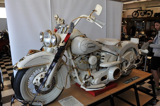 Sturgis Motorcycle Museum & Hall of Fame: HD Sturgis 50th anniversary bike