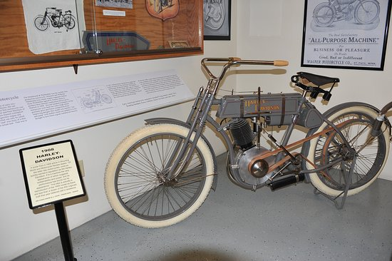 Sturgis Motorcycle Museum & Hall of Fame: HD 1908