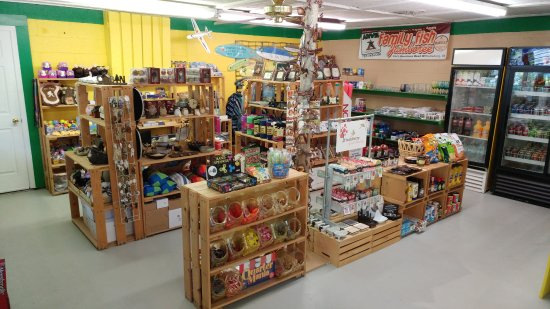 Anvil Campground: General Store with gifts, camping supplies and groceries.