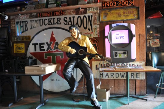 The Knuckle Saloon: Elvis