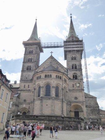 Bamberger Dom: Front facade