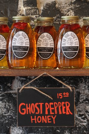 Athens, GA: Ghost Pepper Infused Honey