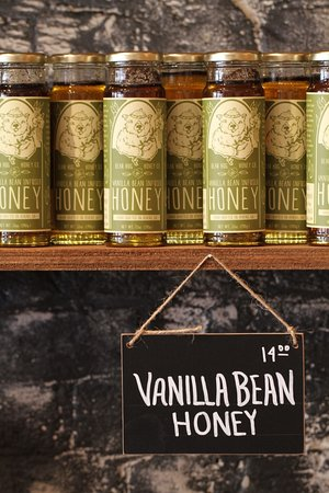 Athens, GA: Vanilla Bean Infused Honey