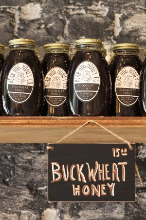 Athens, GA: Buckwheat Honey