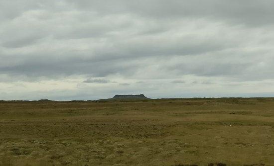 Borgarnes, Island: Eldborg Crater