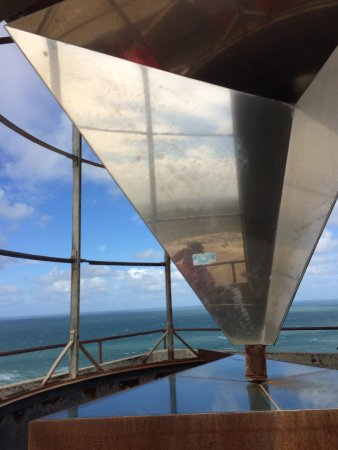 Lokken, Denmark: The mirrors of the Lighthouse are still standing