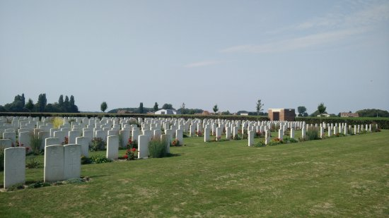 Ипр, Бельгия: Talana Farm Cemetery 29/08/2017