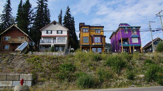 Vernon, Kanada: Viele bunte Häuser