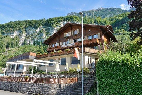 Iseltwald, Suiza: L'hôtel