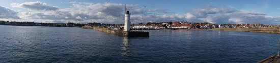 Anstruther Harbour: Panorama from end of breakwater
