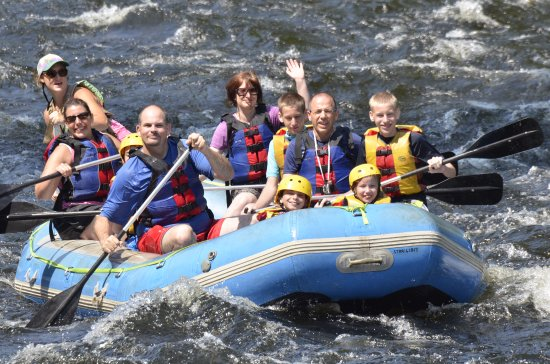 Warrensburg, Estado de Nueva York: Family Rafting