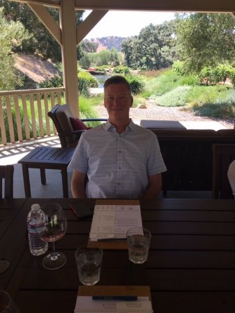 Santa Ynez, CA: Wine tasting in the shade then lunch at Pence