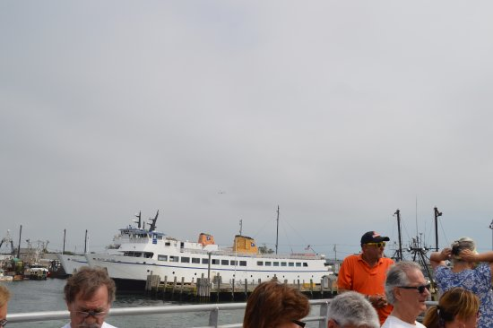 Block Island Ferry: the car ferry