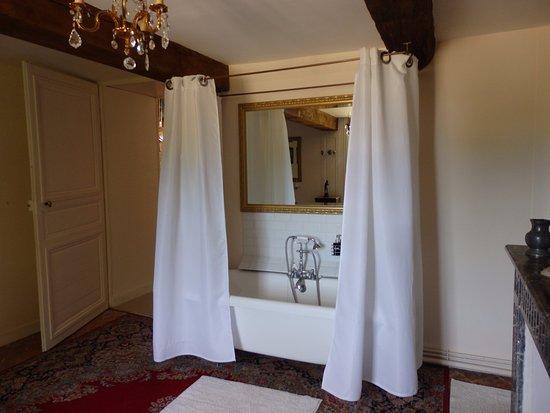 Chateau de Fleury la Foret: La salle de bain