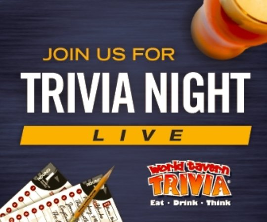 Pentwater, MI: Sunday Night trivia starts in September. Bring a team and play for Gull Landing gift certificate