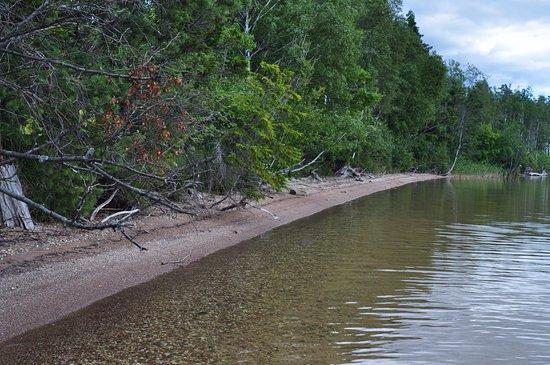 Saare County, Estland: Береговая линий