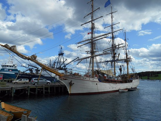 One of 3 tall ships in Lunenburg