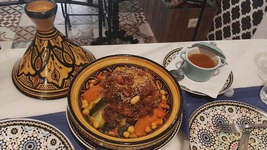 Restaurante al zahr arabian food en ronda con cocina for Cuisine zahra