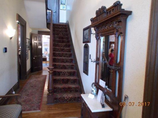 Atchison, KS: Stairway to 2nd Floor