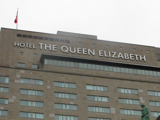 une cone de montr al picture of fairmont the queen elizabeth montreal tripadvisor. Black Bedroom Furniture Sets. Home Design Ideas
