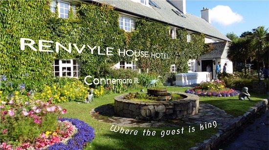 Renvyle, Ireland: Blick auf Vorgarten und Eingang (Titelbild des Video Clip)