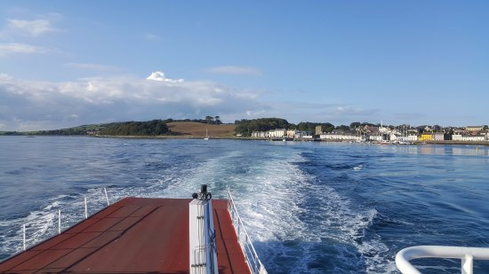 It is such fun spend £1 and enjoy the short ferry ride between Strangford and Portaferry.