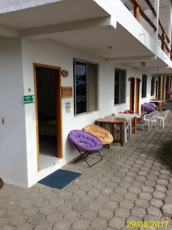 Floreana, Ecuador: ingresso camera