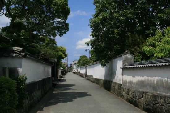 Kota sekitar Istana Yonago