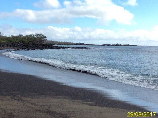 Floreana, Ecuador: panorama della spiaggia