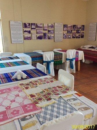 Floreana, Ecuador: interno sala da pranzo