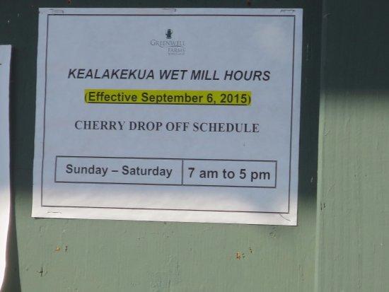 Kealakekua, ฮาวาย: sign