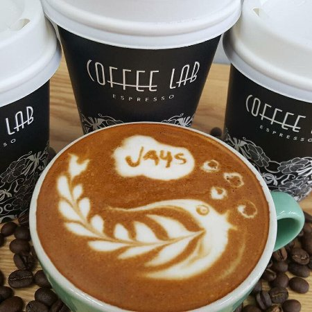 Marlborough Region, New Zealand: Coffee Lab Latte Art by Michael Boyd