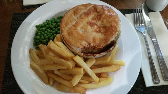 Bobbington, UK: 'Lion Pie'