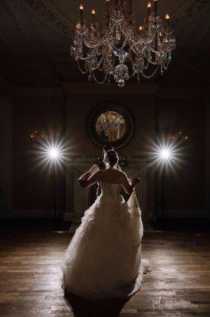 Aldwark, UK: First dance shot in the Walsingham suite
