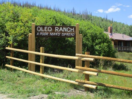 Lake City, CO: Ranch Sign