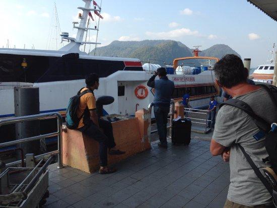 Langkawi Ferry: imbarco
