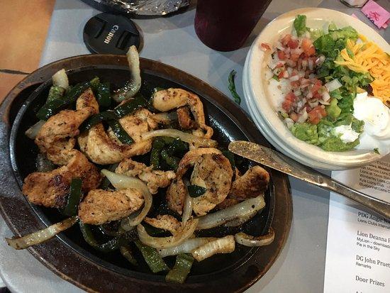 Wimberley, Τέξας: Yummy fajitas!