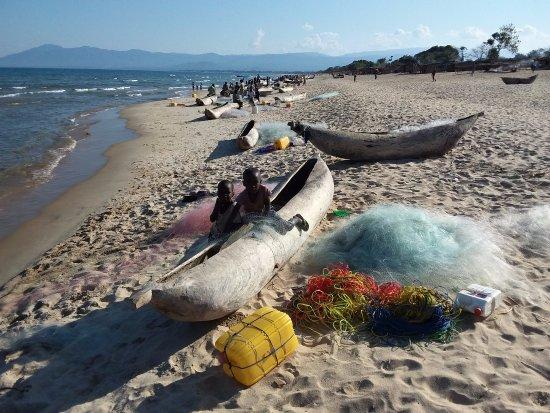 Chinteche, Malawi: wybrzeże Jeziora Malawi