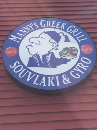 Ellsworth, ME: Manny's Greek Grill