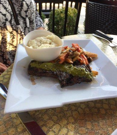 CHAT American Grill: skirt steak