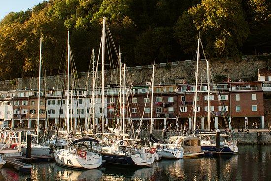 Hondarribia, Spanien: San Sebastian a vela Puerto deportivo de San Sebastian