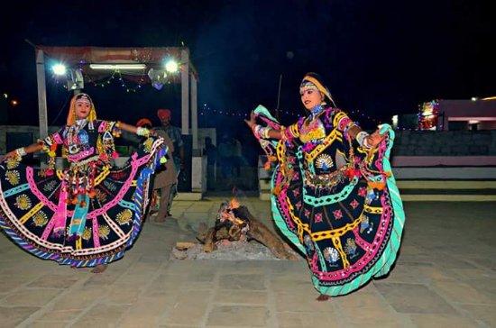 Mohin Desert Safari Camp: Culture dance