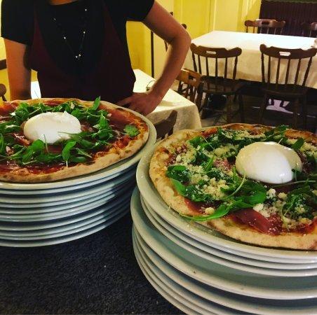 Scopa, İtalya: Pizze extra...